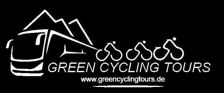 Green Cycling Tours Logo Weiß noback